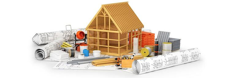 Building Material Quantities for House Construction