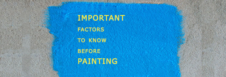 Types of Defects and Remedies in Painting