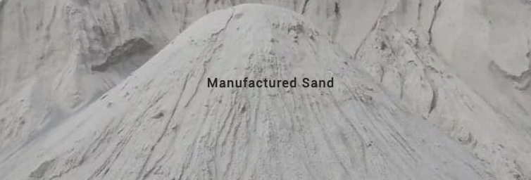 M Sand (Manufactured Sand) - A Substitute to River Sand