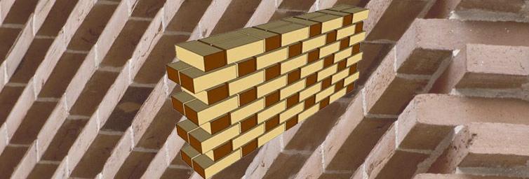 Various types of bonds used in Brick Masonry
