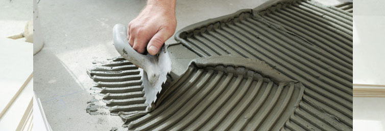 Importance of Tile Adhesives while laying tiles