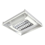 Fluorescent Luminaires Recessed Mounted - Butterfly - CRDI236EB/W