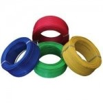 RR Kabel's PVC Insulated Single Core 6.0 Sq mm FR-LSH Cable - 200Mtrs