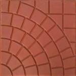 Parking Tile (Foot Ball Design)_Red