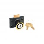 Godrej's Multi Purpose Lock Reversible Common Key - Texture Black
