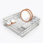 Lifestyle's Multipurpose Partition Basket - 6mm