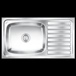 Nirali's Elegence Ultra Glossy Kitchen sink - 26x16x10