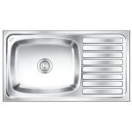 Nirali's Kitchen Sink Elegance Big Bowl 36 x 20 Glossy