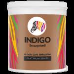 Indigo Paints Floor Coat Emulsion - Platinum Series - 4 Ltrs
