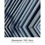 Fe-550 Grade Dhanlaxmi TMT Bar- 8mm