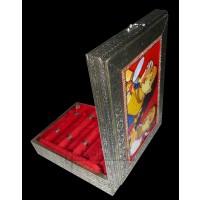 Ahobhilam Prabhaker's Wooden Bangle Box