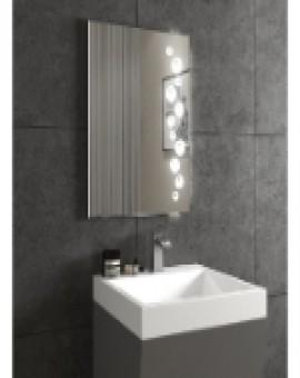 Saint-Gobain's Aspira LED Mirror - Coral (900mm x 600mm (width x height))